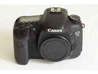 Canon EOS 7D Mark 1 DSLR Camera Body
