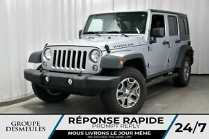 2016 Jeep Wrangler RUBICON + UNLIMITED + CUIR + GPS 4WD