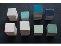 "Ceramic Tiles by Johnson's - Gloss 4"" square"
