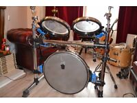 Traps A400 acoustic drum kit. check google for specs.