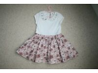 Hand made girls party dress age 4 CAN POST