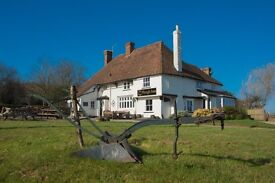 Assistant/Front of house manager Rural pub - 20 minutes from Faversham/Ashford/Maidstone