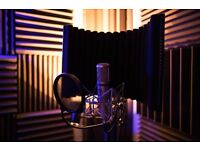 Profesional Voice-over reels recorded at Red Wall Studios, Bury