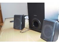 PC multimedia speaker system