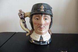 Oliver Cromwell Royal Doulton character jug.