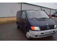 LEFT HAND DRIVE MERCEDES BENZ VITO, DRIVES EXCELLENTLY, ENGINE AND MECHANICS IN GOOD SHAPE.. CALL ME