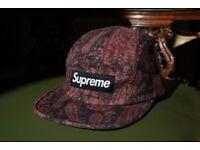 Supreme + Liberty Paisley Camp Cap