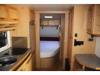 Tec Welt Bummler 545 TDF 2001 4 Berth Fixed Bed Caravan + Motor Movers