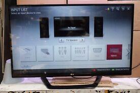 LG 47LM640T 47-inch Widescreen Full HD 1080p LED Cinema Screen 3D Smart TV
