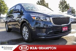 2016 Kia Sedona LX+. 8 PASS. CAMERA. PWR SEATS .PARKING SENSOR