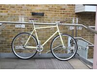 NEW IN!! !!! Steel Frame Single speed road bike fixed gear racing fixie bicycle 99DF