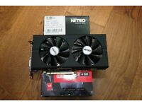 Sapphire RX480 Nitro+ OC 4GB DDR5 with BOX RX 480