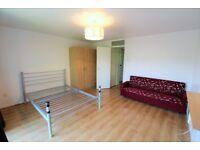 Spacious First floor purpose built Studio with separate kitchen & parking near Newbury Park station
