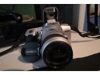 Minolta Dynax 404si + 35-80mm lens