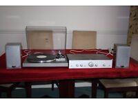 £ 200 ono Retro Vinyl system HiFi Technics SL20 TT, Cambridge A5 Amp and Quad L-ite speakers