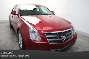 """2009 Cadillac CTS AWD NAV CUIR MAGS 17"""""""" ÉCR.TACT"""
