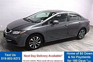 2013 Honda Civic EX SEDAN! SUNROOF! BLUETOOTH! HEATED SEATS! POW
