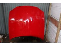 MAZDA MX-5 MK 2.5 Bonnet in red, NO Dents Scratches, or Rust. £25. Pr Doors £20 each N/S wing £10
