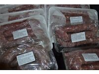 Biltong, boerewors droewors, fresh and traditional.