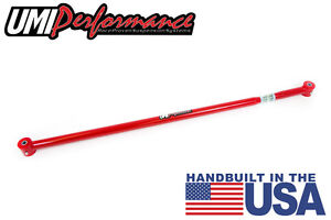 UMI Performance 2005-2014 Mustang On-Car Adjustable Panhard Bar Poly Ends RED