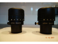 Leica eyepieces 10x/21B (part 10445111) for MZ, MS, M microscopes