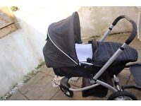 Mothercare My3 Travel System, plus Buggy Board