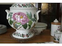 Port Meirion Large Soup Tureen Passion Flower and Peony