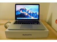 """Macbook Pro 13"""" - Mid 2014 Retina with applecare + Pro Video and Sound Software"""