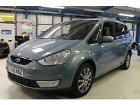 Ford Galaxy GHIA TDCI [7 SEATS /PANO ROOF /PARKTRONIC] (ink blue) 2009
