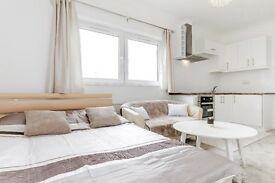 Recently refurbished studio flat for rent in Hammersmith,W6, West London, All bills including