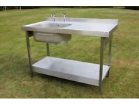 Stainless Steel Sink Kitchen Utility Catering