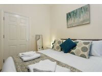 Furnished & Central 2 Double Bed Flat - Smart Tv, WiFi, Parking