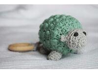 CROCHEWY SHEEP - Handmade crochet rattle toy