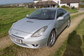 Toyota Celica 2003, Low mileage 61000, Excellent condition