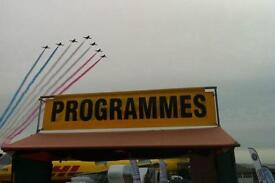 Lincolnshire Show Programme Selling