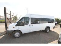 FORD TRANSIT 100 17 SEAT BUS – 57-REG