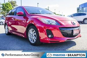 2013 Mazda MAZDA3 GS|ROOF|LEATHER|BLUETOOTH|CRUISE CTRL|HTD SEAT