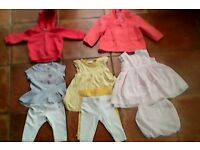 3-6 Months Girl's Designer Clothes x8 Summer Bundle Bargain at £1 each in Exc Condition