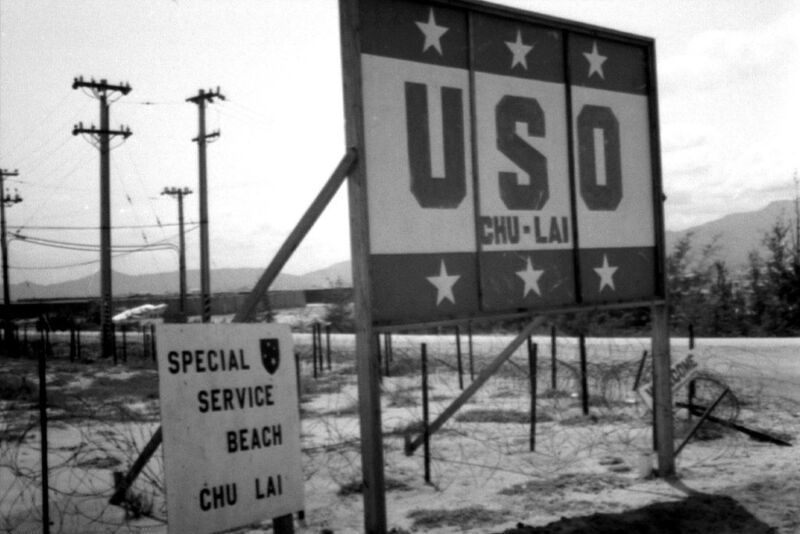 Vietnam 1970 - USO & Special Service Beach - Chu Lai