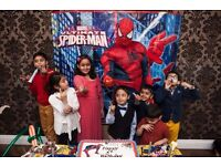 SUPER HERO PARTIES Party MASCOT Childrens Kids HULK IRON SPIDER MAN Meet Greet Entertainer HACKNEY 1