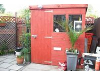 Quality 6x4 garden shed