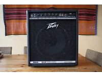 Peavey Basic 112 bass combo. Very good condition. Good starter or practice amp.