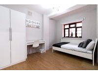 Fantastic extra large double room available in newly refurbished flat!