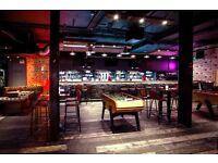 Bar Staff Wanted For Trendy Riverside Venue In Canary Wharf