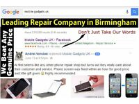 Apple iPhone iPad Repair Service 4 4S 5 5C 5S 6 6+ 6s 6s+ Prices from £17