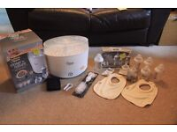 Tommee Tippee Steriliser & Bottle Bundle (as new)