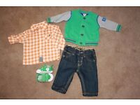 Small baby boy bundle Trendy outfit age 3-6 months Ted Baker - Next - Baby K