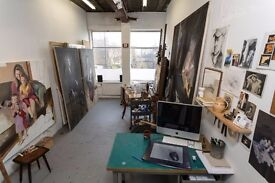 Lovely and bright artist studio in Archway!