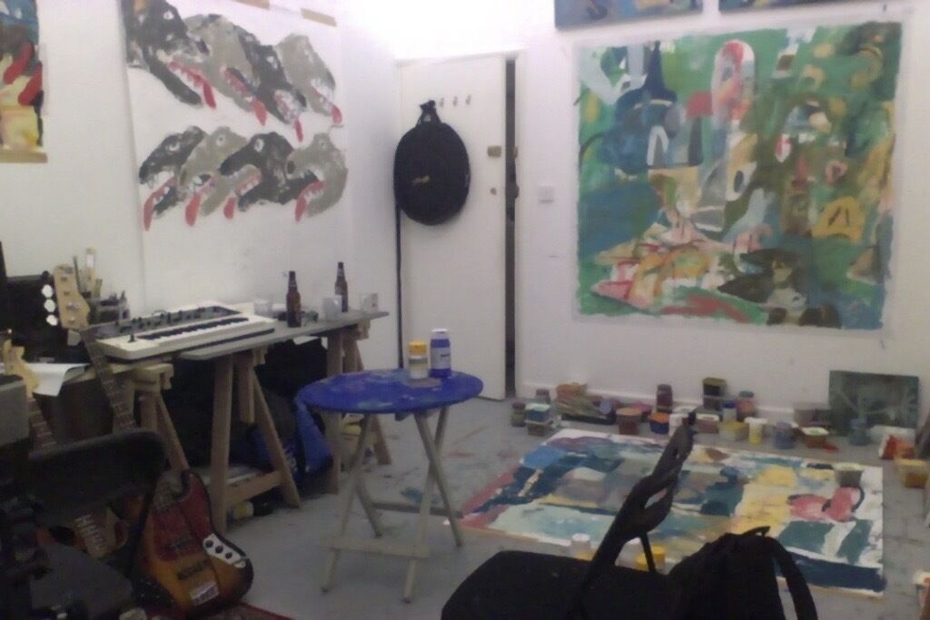 Large studio creative space artist studio workspace small business storage in tower hamlets - Creative small spaces property ...