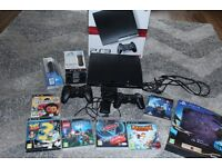 120GB PS3, 2 controllers, camera, move navigation and move motion controllers, 7 games!!!!